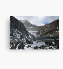 Chasm Lake in October Canvas Print