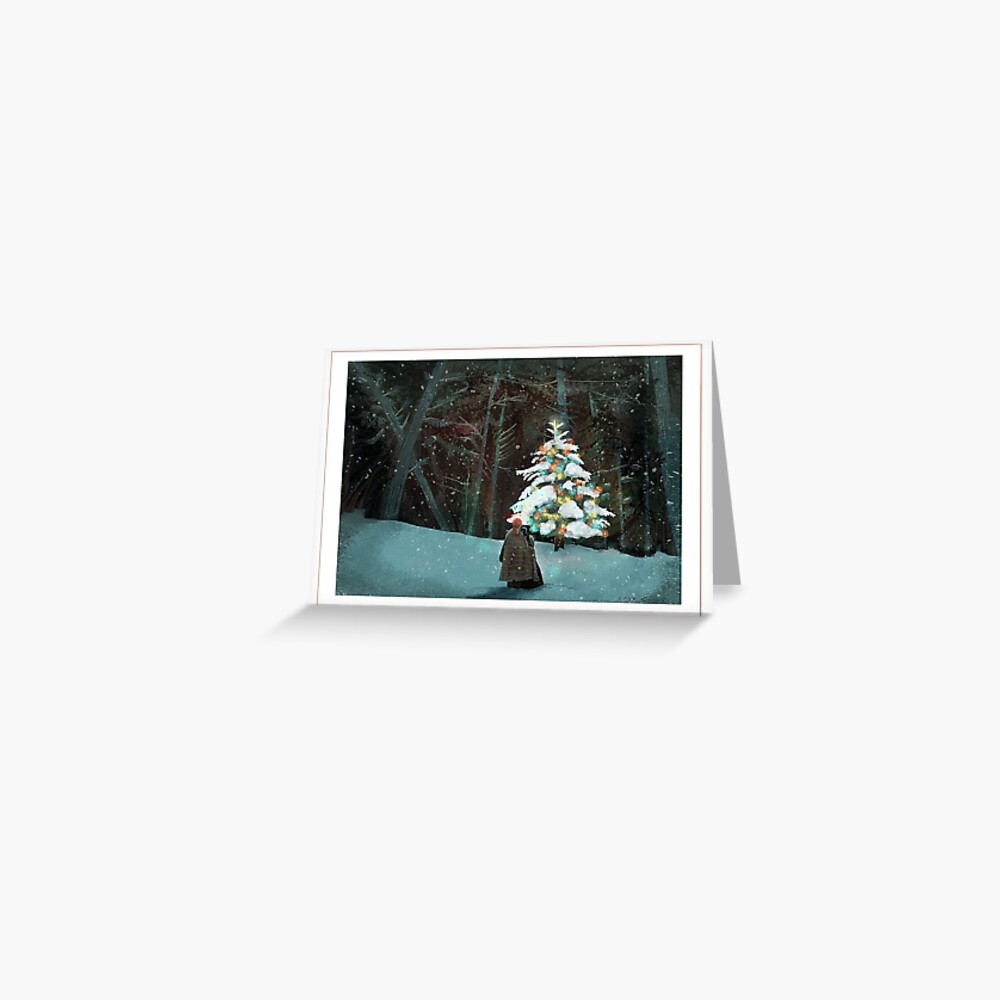 tulach twinkle tree Greeting Card