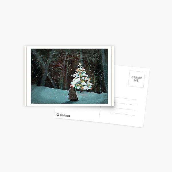 tulach twinkle tree Postcard