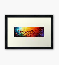 The Poppy Universe Framed Print