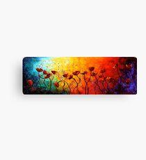 The Poppy Universe Canvas Print