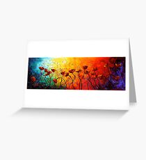 The Poppy Universe Greeting Card