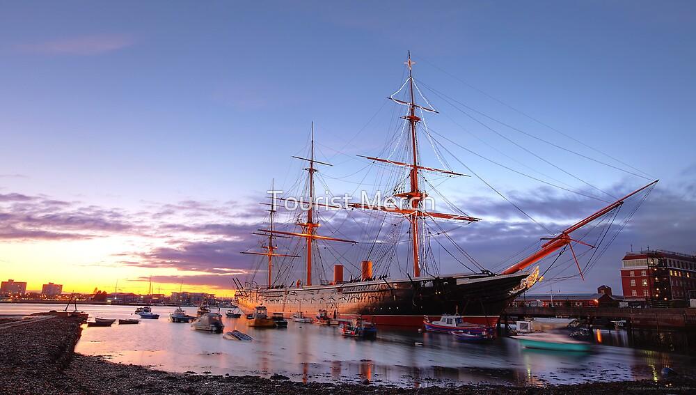 HMS Warrior 1860 by Adam Gormley
