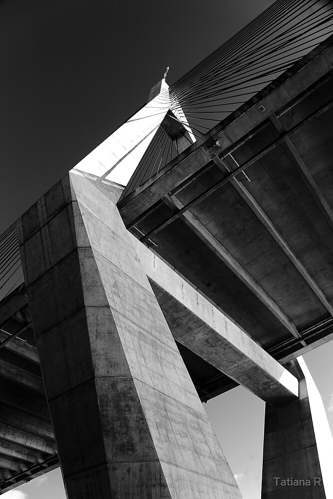 Anzac Bridge Study 2 by Tatiana R