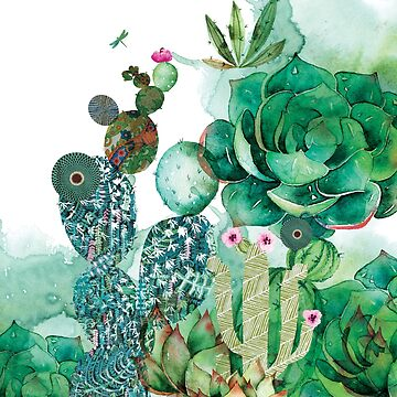 Prickly Pear Garden by Narelle