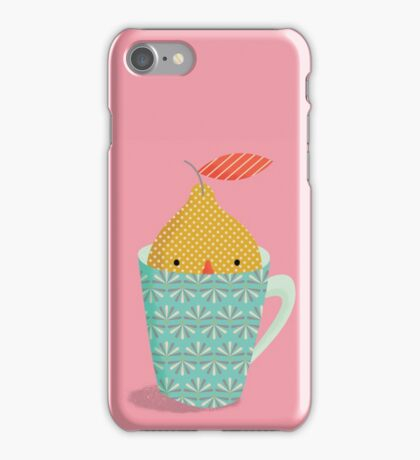 lemon in a cup iPhone Case/Skin