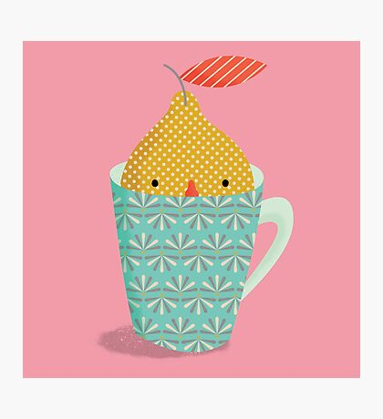 lemon in a cup Photographic Print