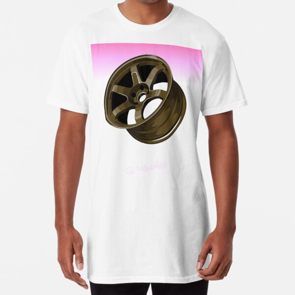 Racing Wheel Long T-Shirt