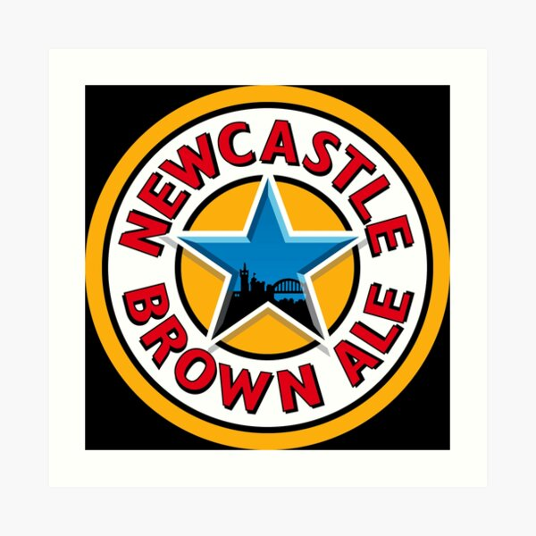 newcastle brown ale Art Print