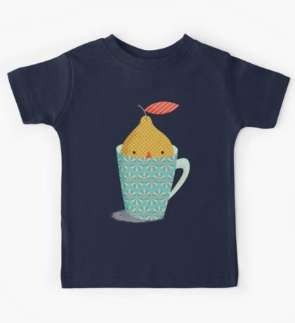 lemon in a cup Kids Clothes