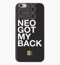 Vinilo o funda para iPhone Neo tengo mi espalda