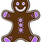 Gingerbread Man B by Kat Sanders