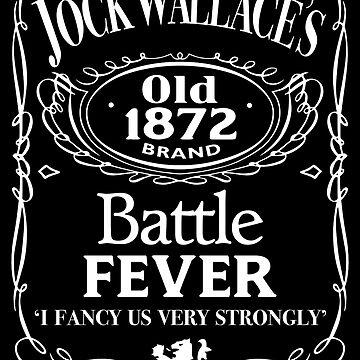 Glasgow Rangers Battle Fever  by trueblueapparel