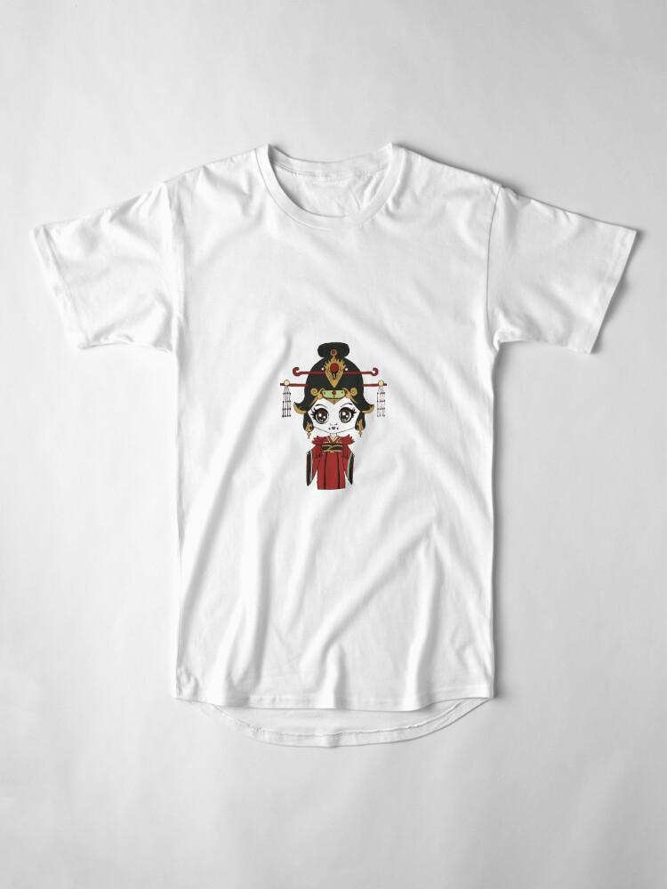 Vista alternativa de Camiseta larga Wu Zetian
