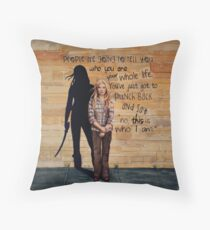 This is Who I Am Throw Pillow