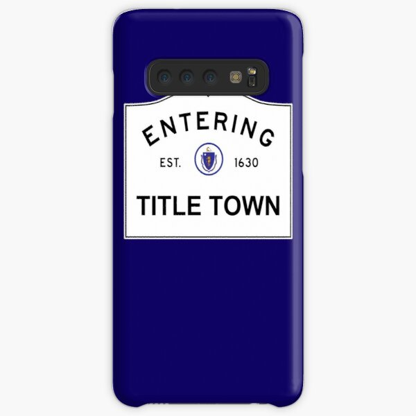 Now Entering Title Town Samsung Galaxy Snap Case