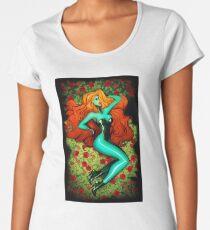Woman roses Women's Premium T-Shirt