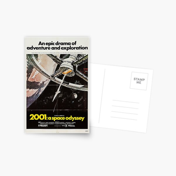 2001: A Space Odyssey Postcard