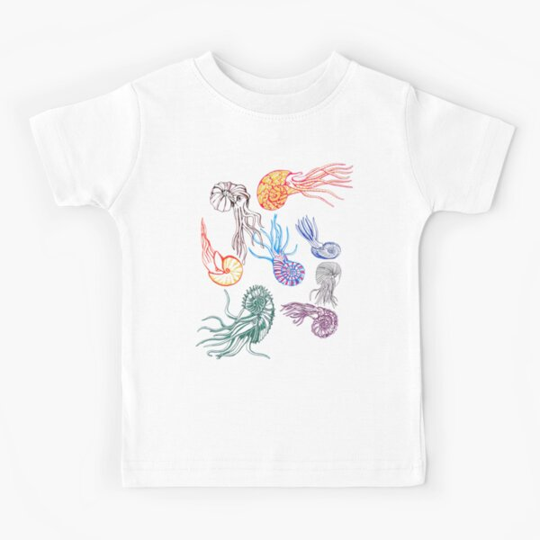 Ammonites- white Kids T-Shirt