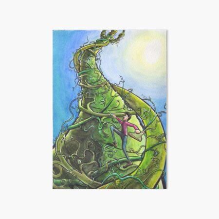 Jack and the Beanstalk Art Board Print