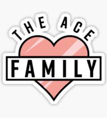 Ace Family Heart Sticker