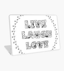 Just Add Colour - Live Laugh Love Laptop Skin