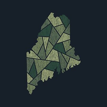 Maine Mosaic - Northern Woods by DesignSyndicate