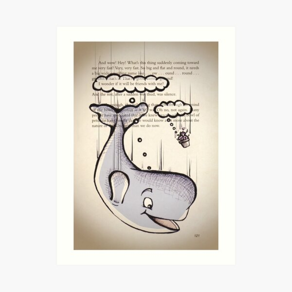 Are You a Whale or a Flowerpot? Art Print
