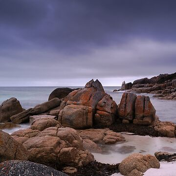 Evening on the Rocks by colinsart