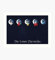 Lámina artística las crónicas lunares
