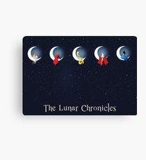 the lunar chronicles Canvas Print