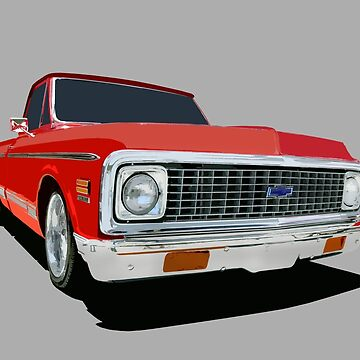 Chevy C-10 - stylized color by mal-photography