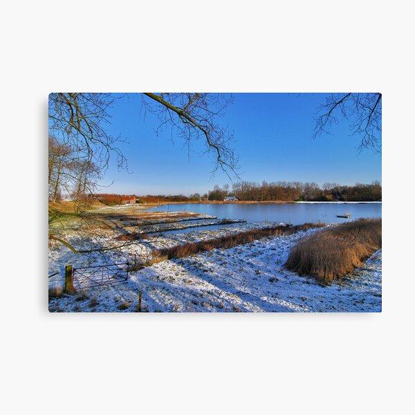 Beautiful angling spot Canvas Print