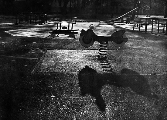 Playground in The Winter Sun by rorycobbe