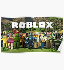 ROBLOX GIFT ITEMS - Tshirt - Phone Case - Pillows - Mugs & Much More.. Poster