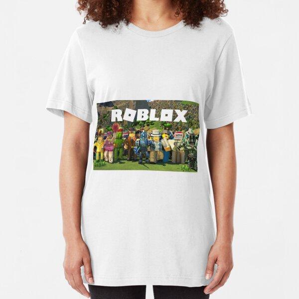 Camisetas Para Mujer Roblox Redbubble