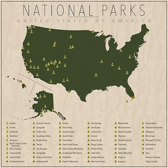 US National Parks by FinlayMcNevin