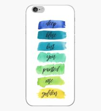 dancing with our hands tied lyrics iPhone Case