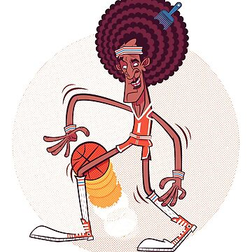 Afro Ball Player by Kaylaya