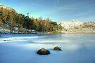 Blea Tarn In Winter by Jamie  Green