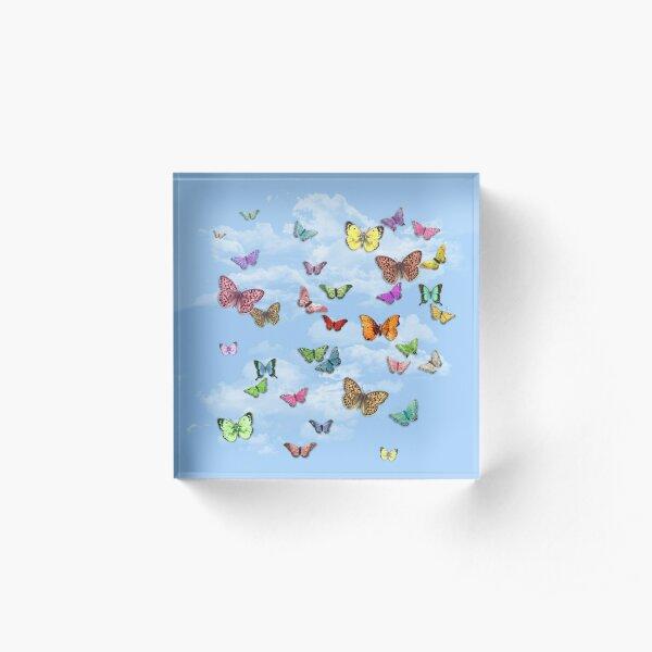 Butterflies Acrylic Block