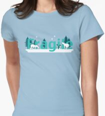 Fragile - polar bears arctic scene T-Shirt