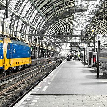 Centraal Amsterdam by hawkie