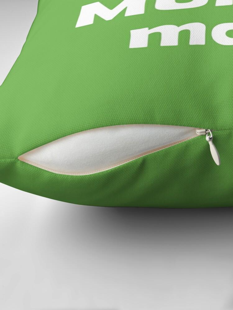 Alternate view of Pui de muntomani Throw Pillow