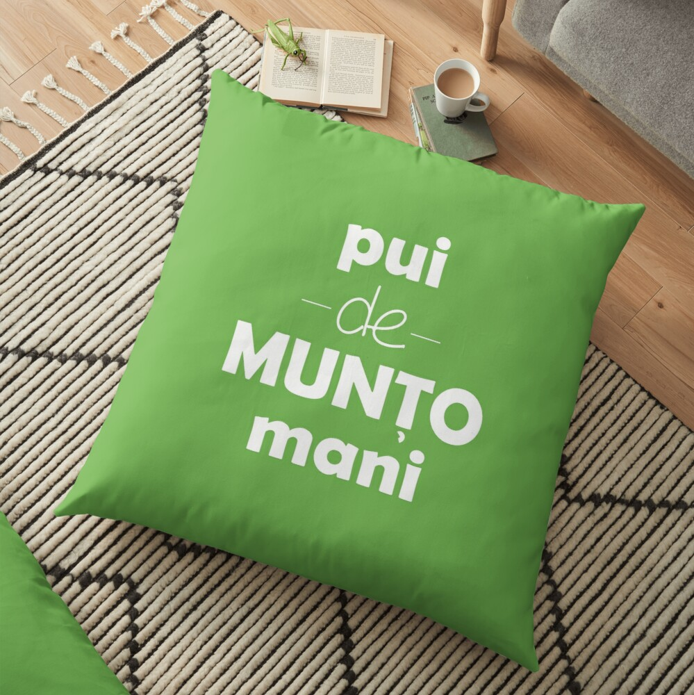 Pui de muntomani Floor Pillow