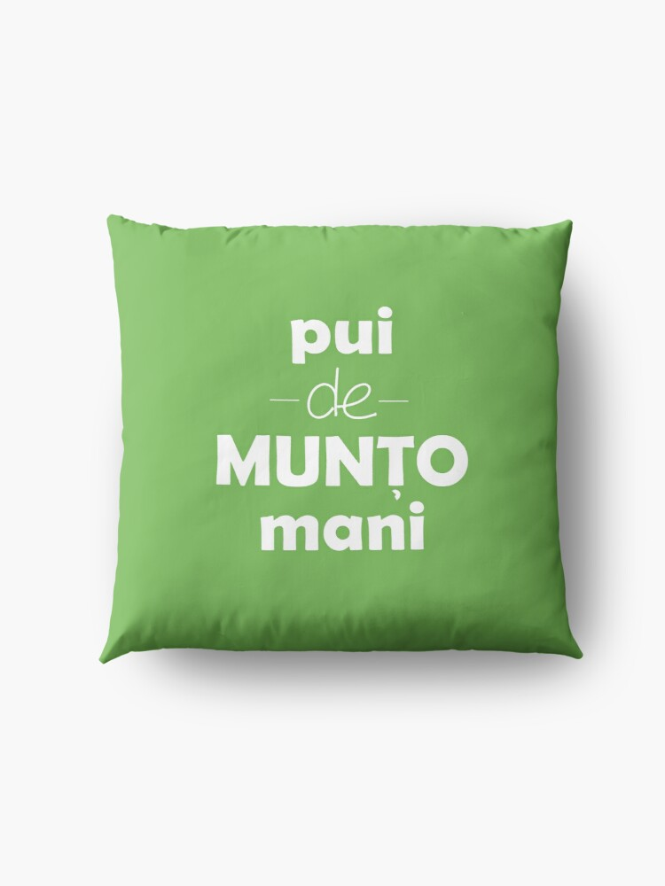 Alternate view of Pui de muntomani Floor Pillow