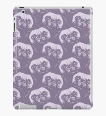 Pale Purple Pugs - Repeating Dog Pattern iPad Case/Skin