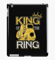 Boxing competition iPad Case/Skin