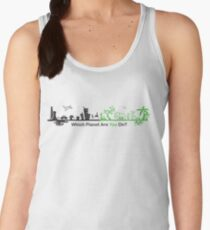 Which Planet Are You On? - version 2 Women's Tank Top