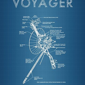 Voyager Spacecraft Diagram by odibil